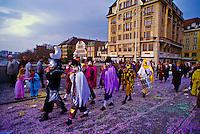 Basel Fasnacht (carnival), Basel, Switzerland