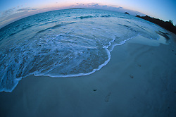 Kailua Beach (Fisheye), Oahu, Hawaii, US