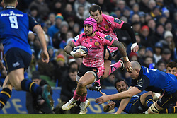 December 16, 2017 - Dublin, Ireland - Jack Nowell of Exeter in action during Leinster vs Exeter Chiefs - the  European Rugby Champions Cup rugby match at Aviva Stadium...On Saturday, 16 December 2017, in Dublin, Ireland. (Credit Image: © Artur Widak/NurPhoto via ZUMA Press)