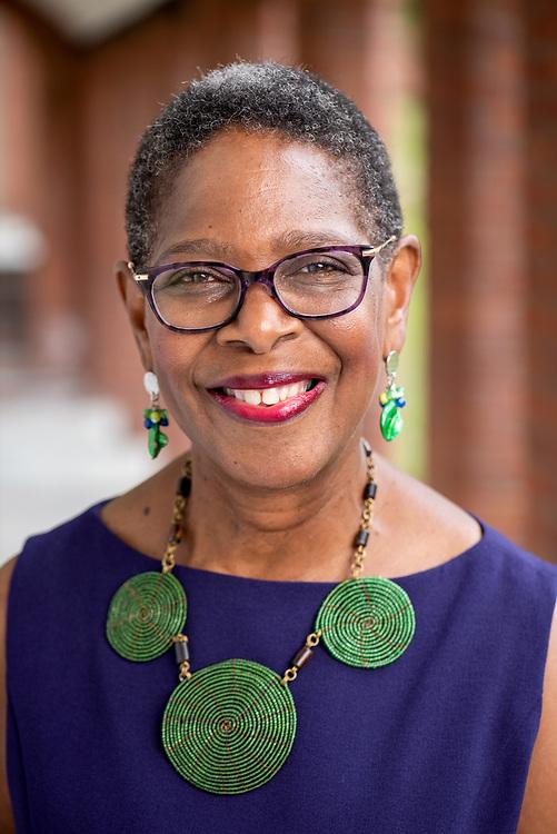 © Photo by Mara Lavitt<br /> August 6, 2020<br /> Yale Divinity School, New Haven, CT<br /> <br /> Joanne Jennings, Director of YDS Black Church Studies.