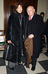 LORD & LADY MONTAGU OF BEAULIEU at the annual Parliamentary Palace of Varieties in aid of Macmillan Cancer Relief at St.Johns, Smith Square, London on 2nd February 2006. <br /><br />NON EXCLUSIVE - WORLD RIGHTS