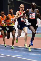 New Balance Indoor Grand Prix track meet: Men's 3000 meter, pacesetters lead Rupp, Gebremeskel