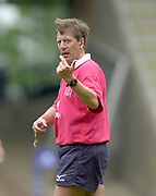 Reading, Berkshire, 10th May 2003,  [Mandatory Credit; Peter Spurrier/Intersport Images], Zurich Premiership Rugby, Referee Tony Spreadbury