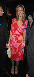 LADY VICTORIA HERVEY at the grand opening of the Amika nightclub, 65 High Street Kensington, London on 28th February 2007.<br />