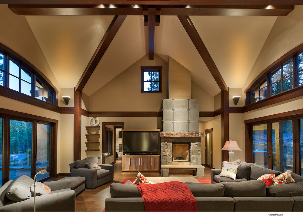 Residential Home 152 Martis Camp by Sandbox Studio and Level 2 Construction, Truckee, CA