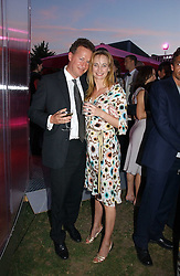 ORLANDO FRASER and CLEMENTINE HAMBRO at the Serpentine Gallery Summer party sponsored by Yves Saint Laurent held at the Serpentine Gallery, Kensington Gardens, London W2 on 11th July 2006.<br /><br />NON EXCLUSIVE - WORLD RIGHTS