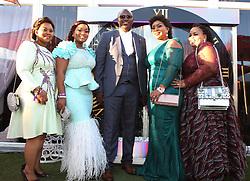 Musa Mseleku with his 4 wives MaYeni, MaKhumalo, MaNgwabe and MaCele