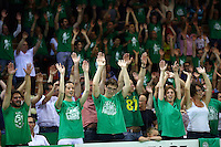 Supporters Limoges - 20.06.2015 - Limoges / Strasbourg - Finale Pro A<br /> Photo : Manuel Blondeau / Icon Sport
