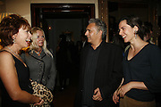 Kathy Lette, Pamela Stephenson, Mr. and Mrs. Hanif Kureishi. PARTY AFTER THE OPENING OF THE ANISH KAPOOR EXHIBITION AT THE LISSON GALLERY. Duchess Palace, 16 Mansfield St. London. W1. 10 October 2006. -DO NOT ARCHIVE-© Copyright Photograph by Dafydd Jones 66 Stockwell Park Rd. London SW9 0DA Tel 020 7733 0108 www.dafjones.com