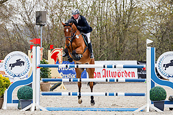 09.1, Youngster-Springprfg. Kl. M** 6+7j. Pferde,Ehlersdorf, Reitanlage Jörg Naeve, 29.04. - 02.05.2021,, Thomas Voss (GER), Calciano,