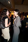 MARIE HELVIN; MARIA GRACHVOGEL; , Vogue: Fashion's Night Out: Armani. Bond st.  London. 8 September 2010.  -DO NOT ARCHIVE-© Copyright Photograph by Dafydd Jones. 248 Clapham Rd. London SW9 0PZ. Tel 0207 820 0771. www.dafjones.com.