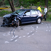 NLD/Huizen/20070505 - Ongeval met beknelling Oud - Bussummerweg Huizen