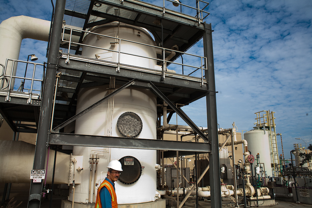 A seondary plant currently under construction at the Internation Border Water Comission's wastewater treatment facility will treat waste water in a biological process in addition to the chemical process currently in use. Steve Smullen is the area projects manager for the International Border Water Commission in San Diego. The IBWC is constructing a secondary wastewater treatment facility, which will treat waste water in a biological process in addition to the chemical process currently in use.