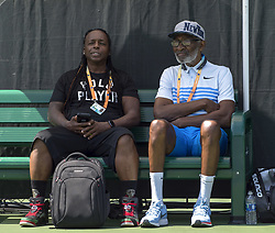 March 21, 2018 - Miami, FL, United States - Miami, FL - March, 21: iRichard Williams arrives to watch daughter Serena Williams (USA) warm-up for her match against Naomi Osaka (JPN) at the 2017 Miami Open held at the Tennis Center at Crandon Park.   Credit: Andrew Patron/Zuma Wire (Credit Image: © Andrew Patron via ZUMA Wire)