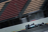 HAMILTON lewis (gbr) mercedes gp mgp w06 action during Formula 1 winter tests 2015 at Barcelona, Spain from February 19th to 22nd. Photo DPPI / Jean Michel Le Meur.