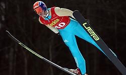 Matic Kramarsic of SSK Costella Ilirija at Slovenian National Championship in Ski Jumping on February 12, 2008 in Kranj, Slovenia . (Photo by Vid Ponikvar / Sportal Images).