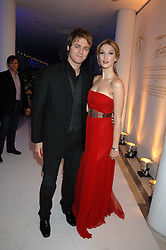 DELTA GOODREM and BRIAN MCFADDEN attending the Tag Heuer party where an exhibition of photographs by Mary McCartney celebrating 15 exception women from 15 countries was unveiled at the Royal College of Arts, Kensington Gore, London on 8th February 2007.<br /><br />NON EXCLUSIVE - WORLD RIGHTS