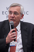 Klaus Tilmes, Director, Trade and Competitiveness Global Practice<br /> World Bank at the World Economic Forum on Africa 2017 in Durban, South Africa. Copyright by World Economic Forum / Greg Beadle