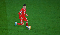 CARDIFF, WALES - Friday, September 6, 2019: Wales' Harry Wilson during the UEFA Euro 2020 Qualifying Group E match between Wales and Azerbaijan at the Cardiff City Stadium. (Pic by Paul Greenwood/Propaganda)