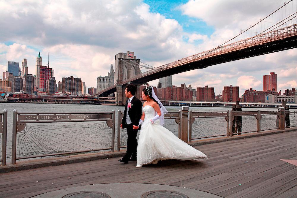 Brooklyn bridge. Brooklyn. Nueva York. EE. UU.