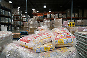 Bags of oats are piled on pallets at Second Harvest Heartland Headquarters in Brooklyn Park, Minnesota, U.S., on Thursday, July 23, 2020. Photographer: Ben Brewer/Bloomberg