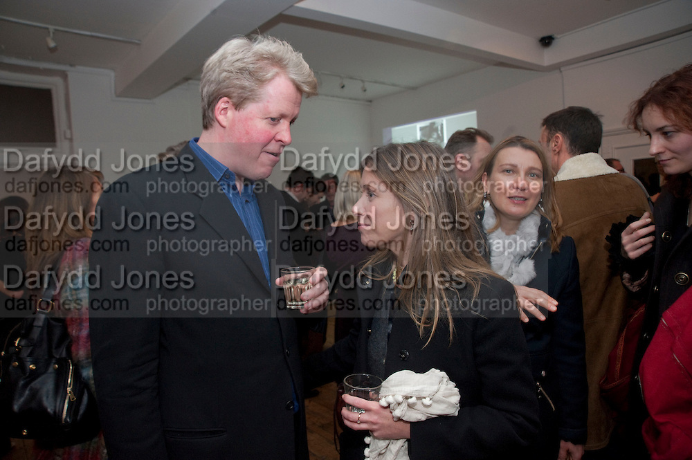 EARL OF SPENCER; LOUISE WILSON, The  launch of Johnnie Shand Kydd's book Siren City. ( Photographs of Naples) Claire<br /> de Rouen books published  by Other Criteria. Charing Cross Rd. London. 30 November 2009
