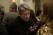 NIKKI BELL, Tim Noble and Sue Webster: Sacrificial Heart. Gagosian . Davies St. London and afterwards Claridges. 11 December 2007. . -DO NOT ARCHIVE-© Copyright Photograph by Dafydd Jones. 248 Clapham Rd. London SW9 0PZ. Tel 0207 820 0771. www.dafjones.com.