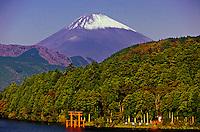 Lake Ashi (Fuji-san, Mt. Fuji in background), Hakone, Japan