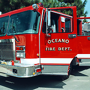 Reis Amerika, Oceano fire department fire engine brandweerauto