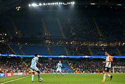 Raheem Sterling of Manchester City in action - Mandatory by-line: Matt McNulty/JMP - 26/09/2017 - FOOTBALL - Etihad Stadium - Manchester, England - Manchester City v Shakhtar Donetsk - UEFA Champions League Group stage - Group F