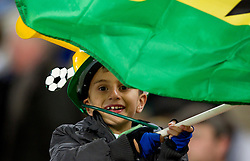 Young Fan of Ghana during the 2010 FIFA World Cup South Africa Quarter Finals football match between Uruguay and Ghana on July 02, 2010 at Soccer City Stadium in Sowetto, suburb of Johannesburg. Uruguay defeated Ghana after penalty shots. (Photo by Vid Ponikvar / Sportida)