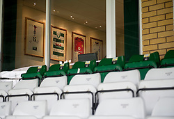A Manchester United Shirt hangs in a Directors box at Huish Park  - Photo mandatory by-line: Joe meredith/JMP - Mobile: 07966 386802 - 04/01/2015 - SPORT - football - Yeovil - Huish Park - Yeovil Town v Manchester United - FA Cup - Third Round