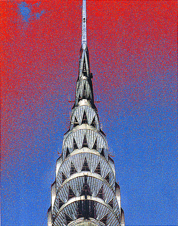 The  Chrylser Building, photo illustration