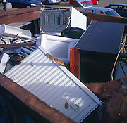 Recycling of metal domestic appliances