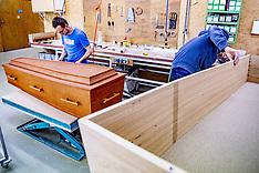 Manufacture Of Coffins - Netherlands - 22 April 2020