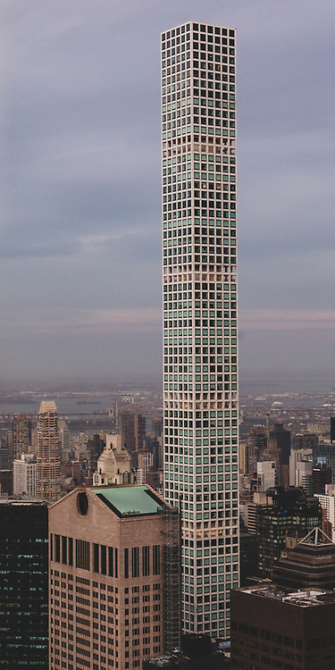 The 432 Park Avenue tower in New York City.