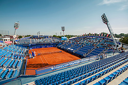 Central stadion of Stella Maris at 26. Konzum Croatia Open Umag 2015, on July 22, 2015, in Umag, Croatia. Photo by Urban Urbanc / Sportida
