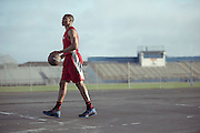 Russell Westbrook for Six Star Pro Nutrition.  Photograph by commercial sports and advertising photographer Reggie Ferraz.