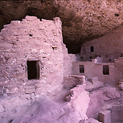 Spruce Tree House is perhaps the most accessible of all the ancient dwellings in Mesa Verde National Park, CO.