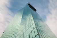 Architektur, Fassade, Glas, Perspektive, Prime Tower, Schweiz, Strukturen, Tower, Wind, Wolken, Wolkenkratzer, Zürich