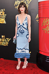 Mary Elizabeth Winstead at the 2017 MTV Movie And TV Awards held at The Shrine Auditorium on May 7, 2017 in Los Angeles, California.<br /><br />(Photo by Sthanlee Mirador) *** Please Use Credit from Credit Field ***