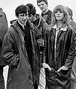 Leslie Ash and Phil Daniels on set of Quadrophenia - Brighton 1979