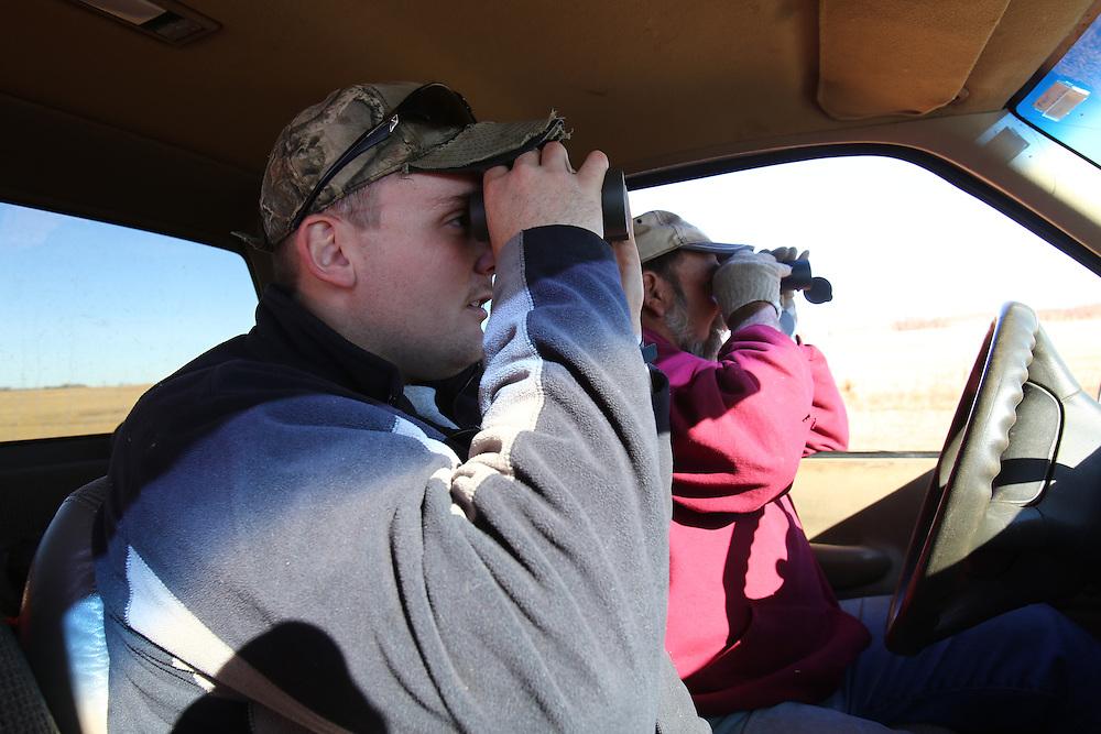 Deer hunting, November 2015. Burwell, Nebraska.