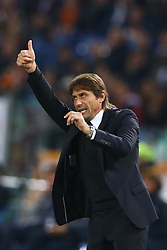 October 31, 2017 - Rome, Italy - Antonio Conte manager of Chelsea  during the UEFA Champions League football match AS Roma vs Chelsea on October 31, 2017 at the Olympic Stadium in Rome. (Credit Image: © Matteo Ciambelli/NurPhoto via ZUMA Press)