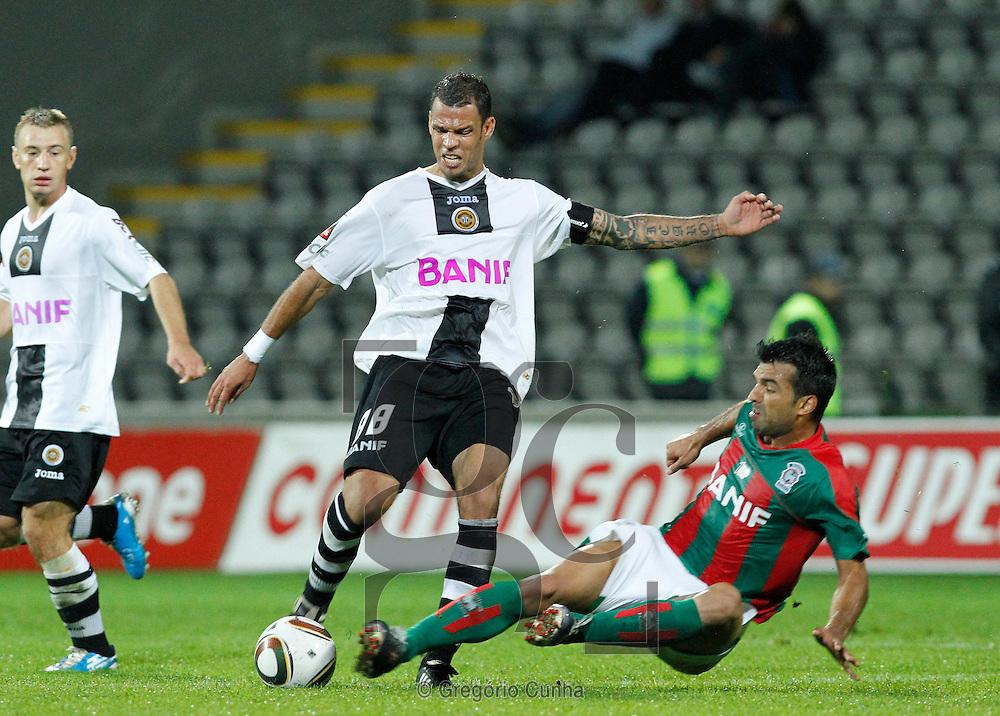Liga Portuguesa, Estadio da Madeira.Nacional vs Maritimo.Luis Alberto e Roberto.Foto Gregorio Cunha