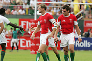 IRB Emirates airline Dubai sevens 2008. match 35 action, Bowl semi  final between  Wales and Portugal  at the Sevens Stadium in Dubai on Sat 29th November 2008..pic by Andrew Orchard.