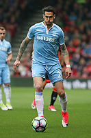 Football - 2016 / 2017 Premier League - AFC Bournemouth vs. Stoke City<br /> <br /> Geoff Cameron of Stoke City in action at the Vitality Stadium (Dean Court) Bournemouth<br /> <br /> COLORSPORT/SHAUN BOGGUST