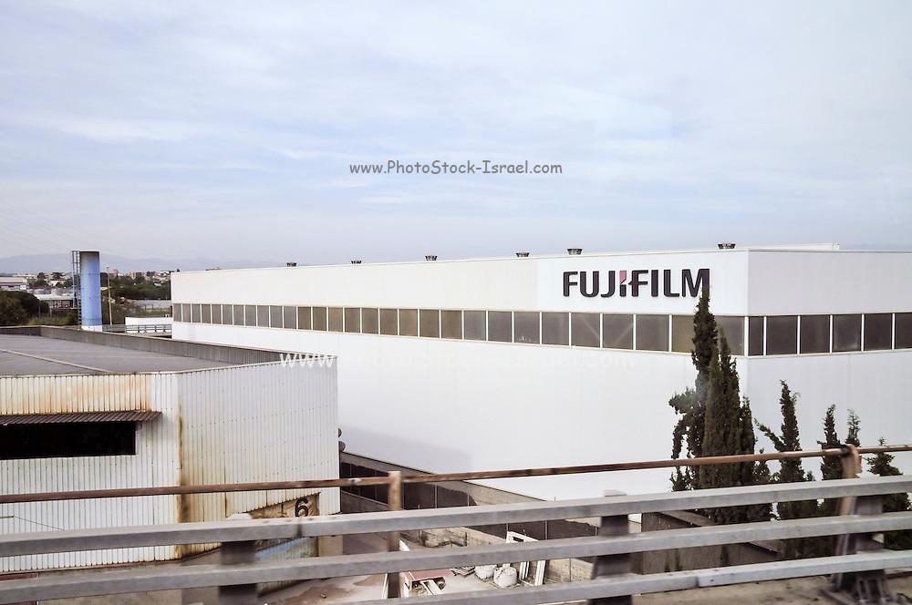 Fujifilm factory in Catalonia, Spain