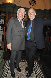 Left to right, BARRY CRYER and CLIVE JAMES at the 2008 Oldie of The year Awards and lunch held at Simpsons in The Strand, London on 11th March 2008.<br /><br />NON EXCLUSIVE - WORLD RIGHTS