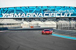 December 15, 2018 - Abu Dhabi, EMIRATS ARABES UNIS - 11 KESSEL RACING FERRARI 488 GT3 PRO MICHAEL BRONISZEWSKI (POL) DAVIDE RIGON (ITA) ALESSANDRO PIERGUIDI  (Credit Image: © Panoramic via ZUMA Press)